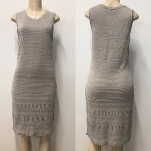Tommy Bahama cream knitted dress